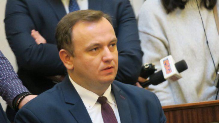 Jakub Chełstowski z Tychów, nowy marszałek województwa śląskiego.