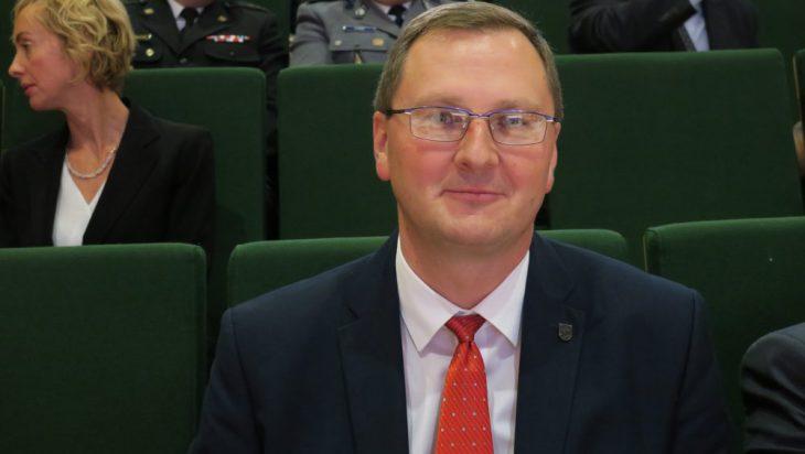 Stary – nowy przewodniczący Rady Miasta Adam Cebula.