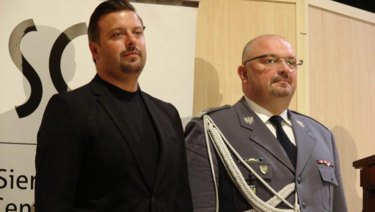 Rafał Piech na Święto policji Siemianowice