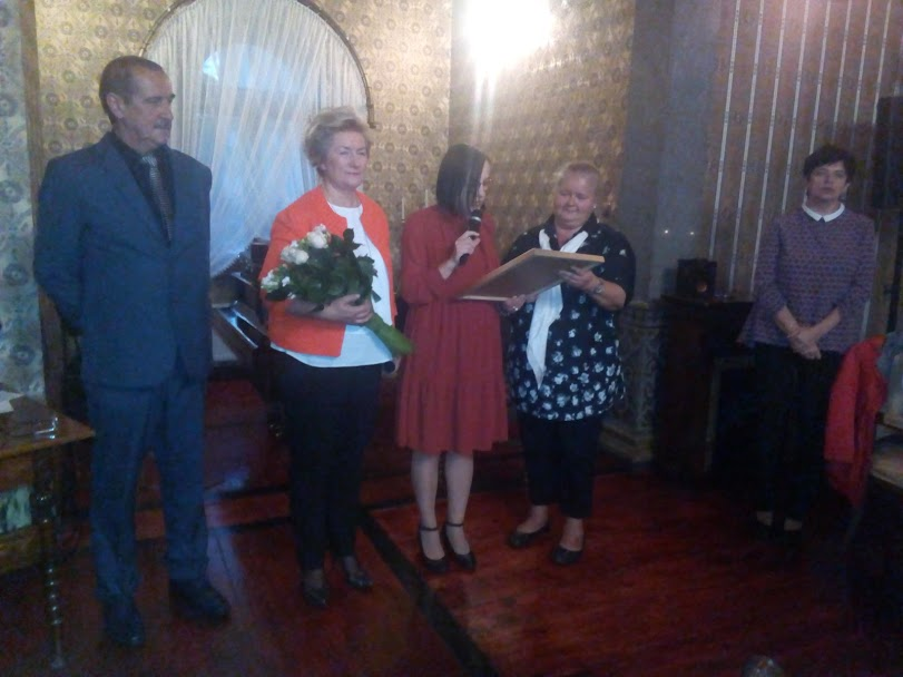 Były splendory, miłe słowa, kwiaty i dyplomy od władz