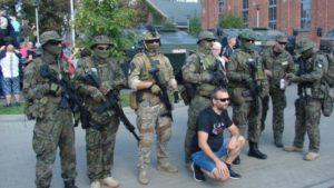 Wojsko w parku tradycji