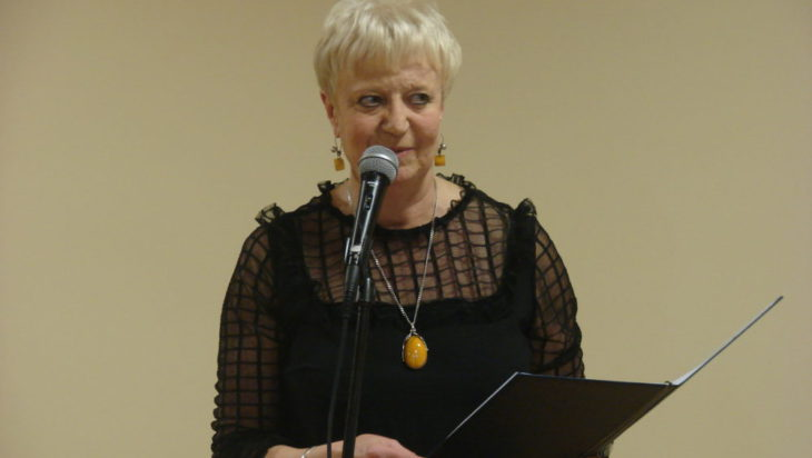 Wiesława Szlachta, wieloletnia dyrektor MBP