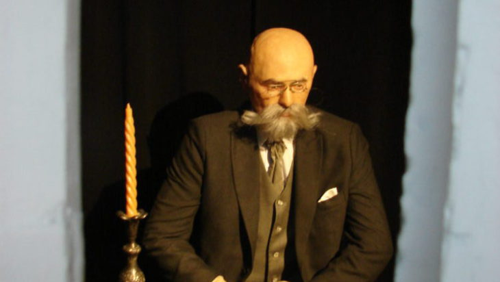 Prezydent Dąbrowy Górniczej Adam Piwowar (figura woskowa)