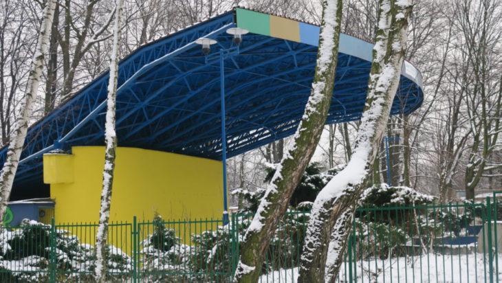 Park Miejski i jego okolice.