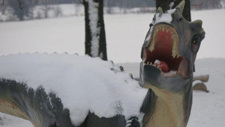 Dinozaury zimna nie lubią.