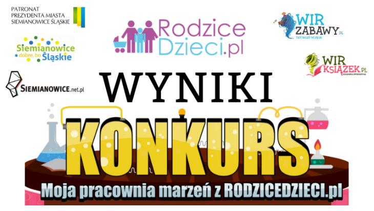"""Znamy już wyniki konkursu """"Moja pracownia marzeń z RODZICEDZIECI.PL"""""""