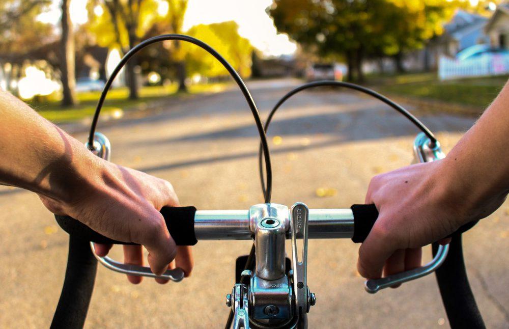 rowerzysta w siemianowicach