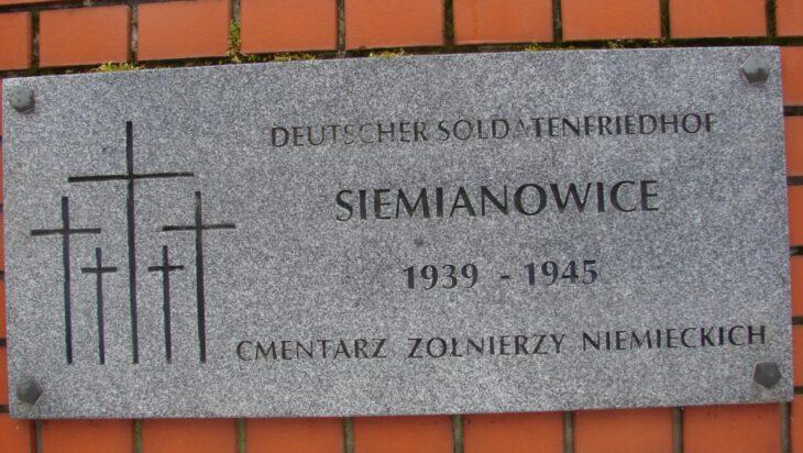 Cmentarz żołnierzy niemieckich w Siemianowicach
