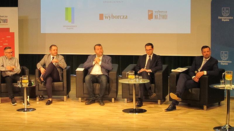 debata wyborczej w siemianowicach, rafał piech