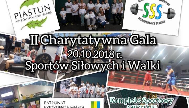 II Charytatywna Gala Sportów Siłowych i Walki