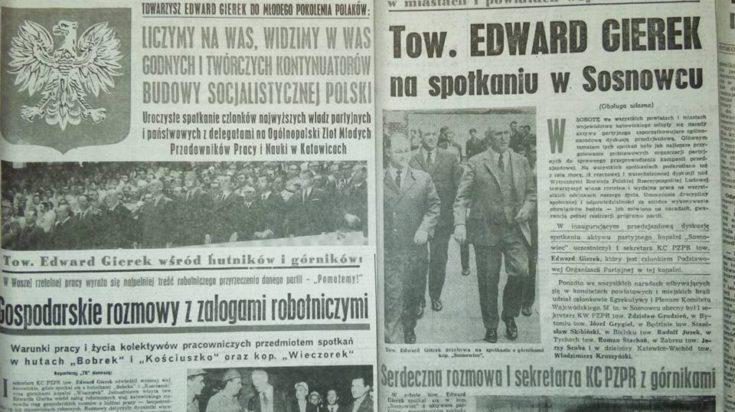 Gazeta, Edward Gierek