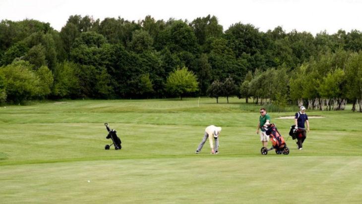 pole golfowe w siemianowicach