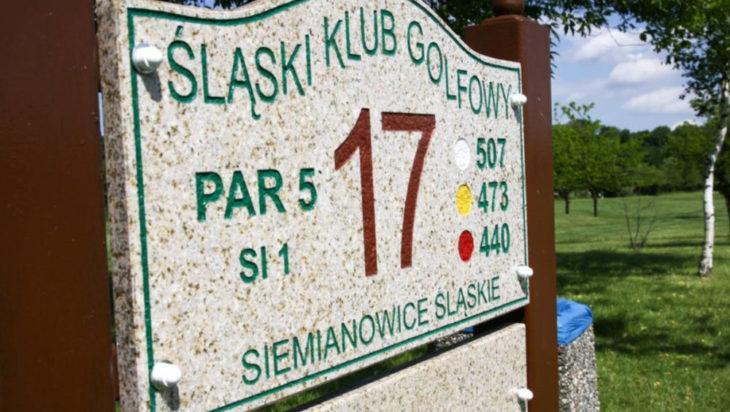 dołek 17 pole golfowe w siemianowicach
