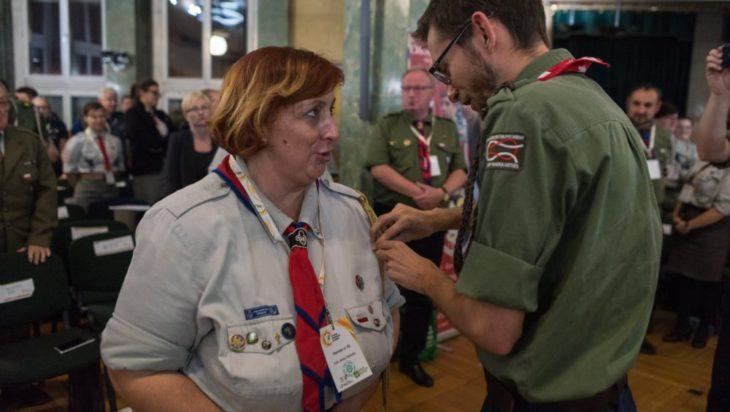 hm. Anna Peterko ponownie wybrana komendantką Chorągwi Śląskiej