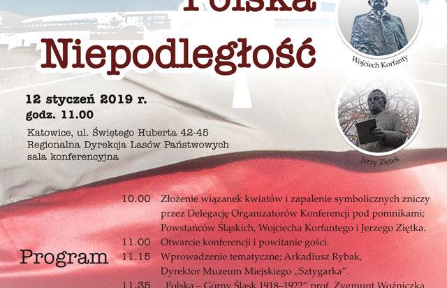 Plakat Konferencji o Korfantym