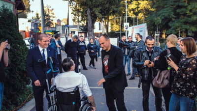 Paweł Kukiz spotkał się z mieszkańcami w Chorzowie!