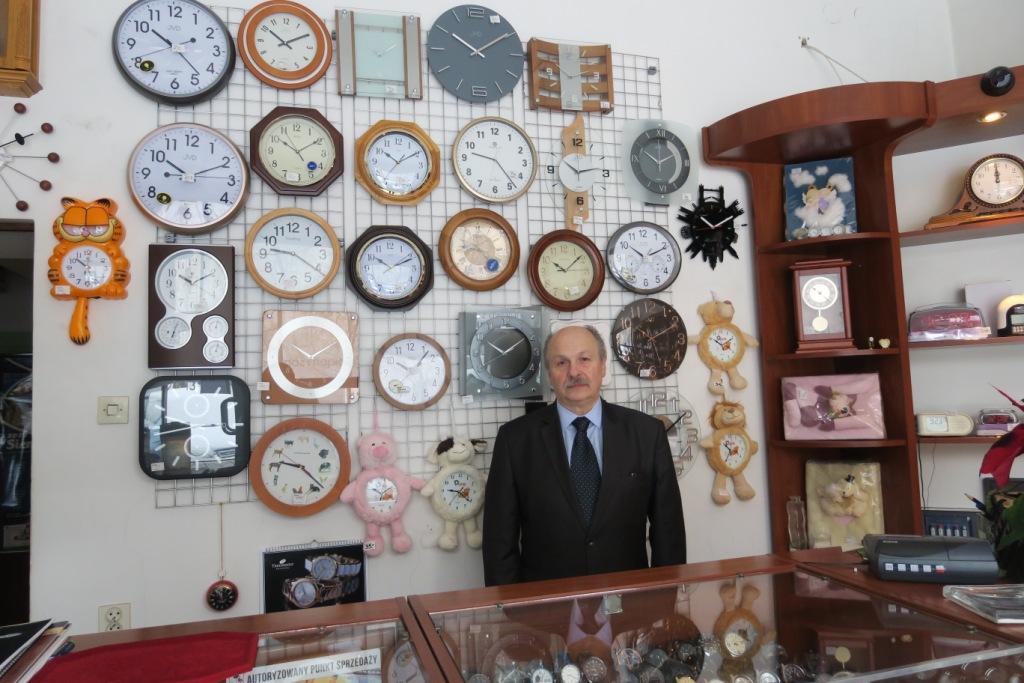 Joachim Michalik - zegarmistrz