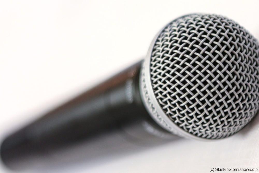 Mikrofon Siemiona a.d. 2018 w Siemianowicach Śl.