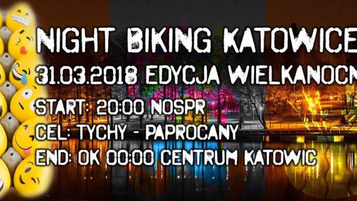 Nocne rowerowanie w Wielkanoc