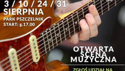 Otwarta Scena Muzyczna w Parku Pszczelnik