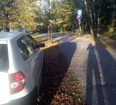 Parking tylko dla quadów?!