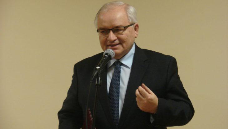 prof. Jan Malicki, szef szefów wszystkich bibliotek