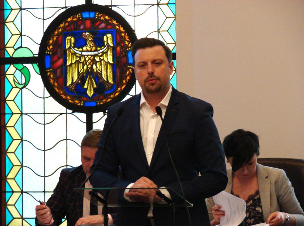 Rafał Piech, prezydent siemianowice