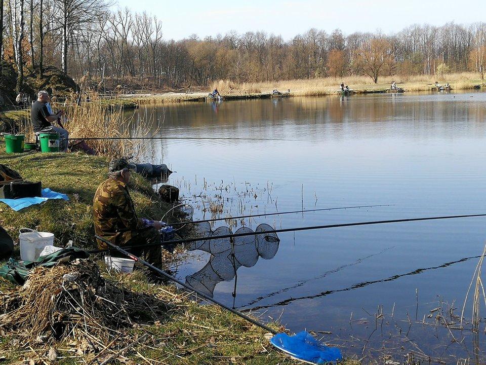 staw rzęsa, łowienie ryb