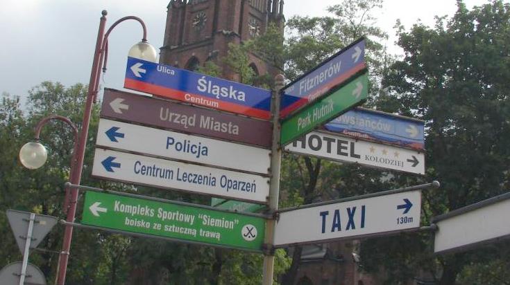 ulica śląska w siemianowicach