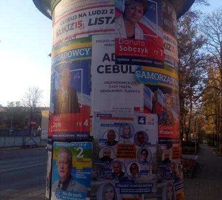 Trwa wojna na plakaty