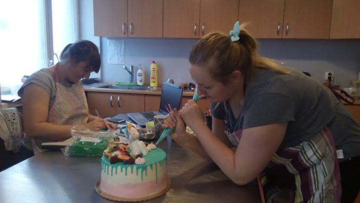 Lucyna Gieracz i jej artystyczne torty