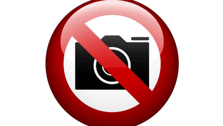Zakaz fotografowania?